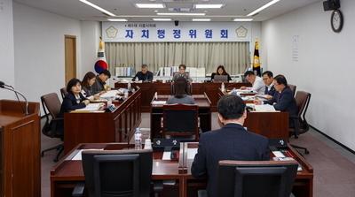 """[시흥시의회] 내년도 예산안 심의 """"뜨거워"""""""