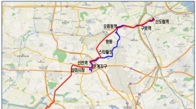 시흥시 9일부터 6개 버스노선 변경…510, 520번은 운행중단