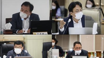 [포토] 경기도 행감서 맹활약하는 시흥 도의원들