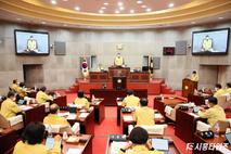 시흥시의회, 정례회 개회…내년 예산안 등 심사