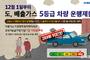 경기도, 12월 1일부터 '노후 경유차 운행 제한'