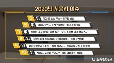 """[시흥TV 유튜브] 2020년 연말 결산편...""""Adieu! 2020"""""""
