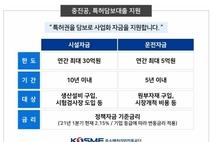 고기술가치 특허 보유한 中企에 '특허담보대출'