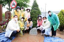 시흥시의회, 시흥천변 가로환경개선 기념식수 행사 참석
