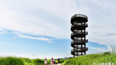 [포토] 푸르른 갯골생태공원